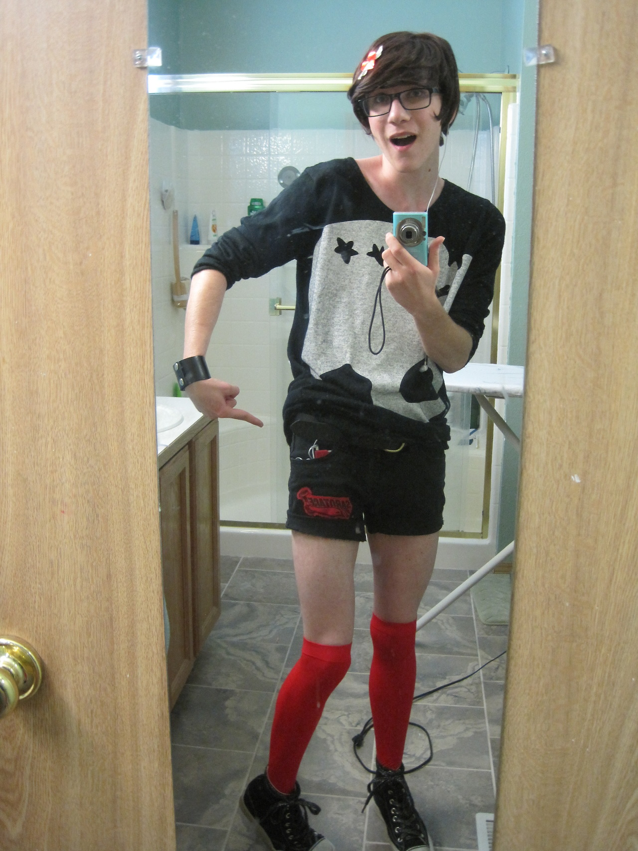 teen femboy Knee High